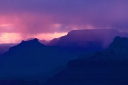 Snow Showers at Sunset, Grand Canyon National Pa