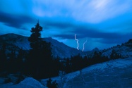 Stormy Weather, Yosemite National Park, Californ