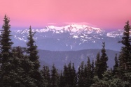 Sunrise Over Mount Olympus,  Olympic National Pa