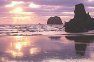 Sunset Light, Bandon, Oregon      ID 31